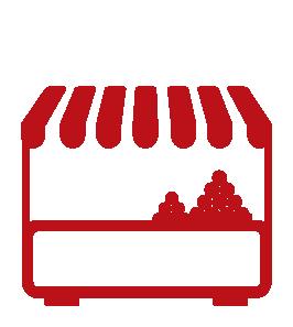 Icon Marktstand